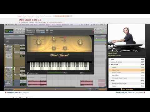 Pro Tools: Mini Grand & DB 33