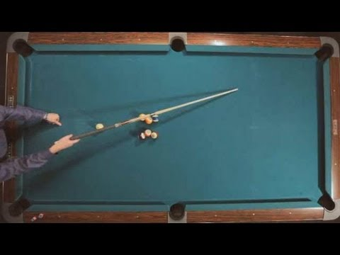 Pool Trick Shots / Classic Shots: Butterfly