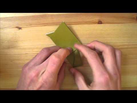 Origami Nativity: Sheep