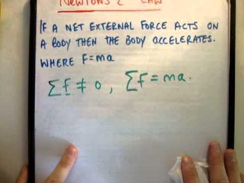 Physics : Newton's second law
