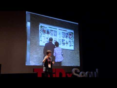 True space of the arts created in collaboration with the audience: Eun-joo Kim at TEDxSeoul