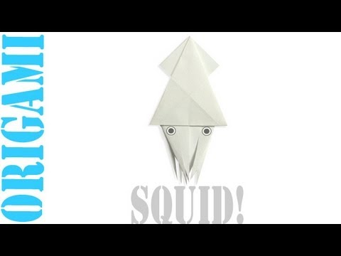 Origami Daily - 368: Squid - TCGames - [HD]