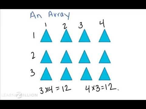 Solve division problems using an array - 4.NBT.6