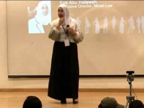 Women's Rights: Eva Abu Halaweh at TEDxRasAlEinSquare