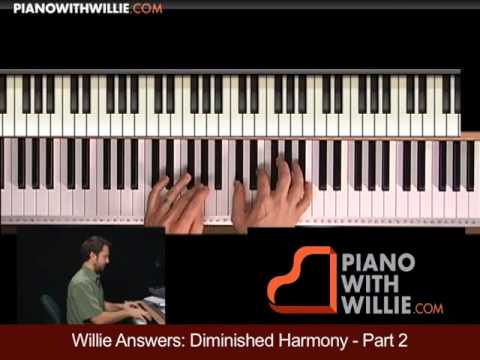 Willie Answers 9: Diminished Approach in Minor
