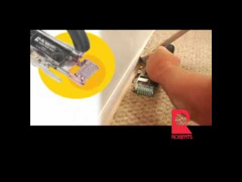 Robert's Golden Touch One-Step Carpet Trimmer
