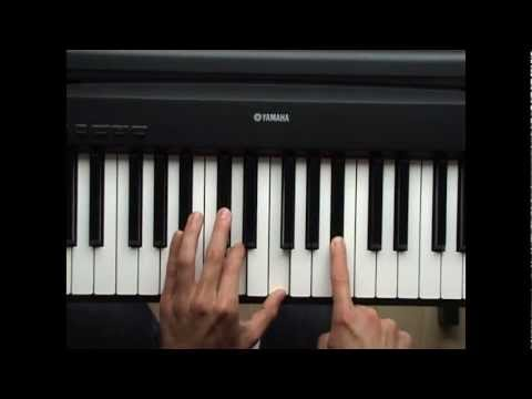 ♫ How To Play Mad World Gary Jules Piano Tutorial Lesson HD
