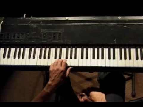Piano Lesson - Spider Finger Exercise (left hand)