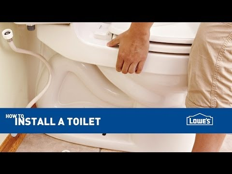 Replacing and Installing a Toilet