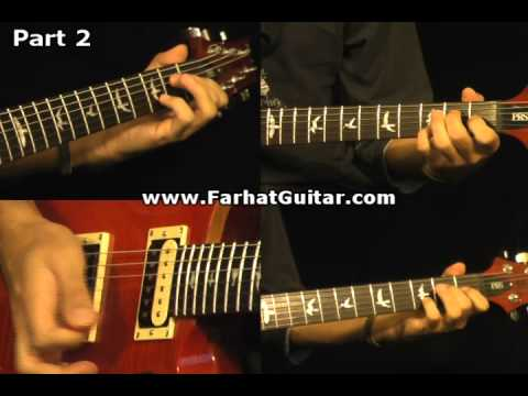 Roadhouse Blues - The Doors Guitar Cover Part 2 www.FarhatGuitar.com