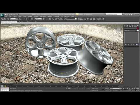 Real Time Review Enhancements — 3ds Max 2010 New Features