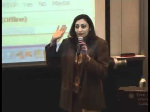 Rasha Abdulla Delivers Provost's Lecture on Social Media and the Revolution