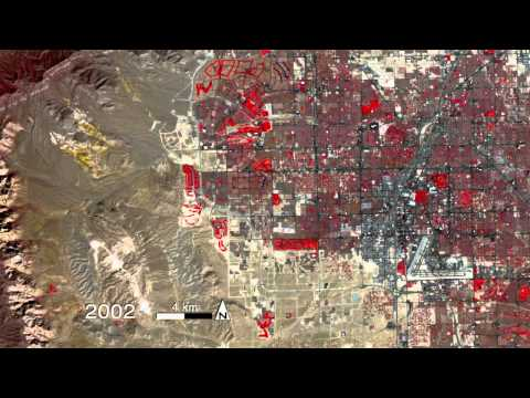 NASA | What Doesn't Stay in Vegas? Sprawl.