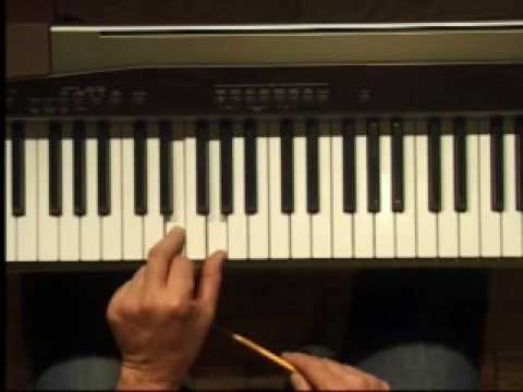 Piano Lesson - Two Note Chords in C (Left Hand)