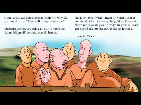 Talking Book in English - The Foolish Disciples