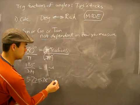 Trig Tips and tricks, Arc Length and Radian example: Trigonometry Math Help