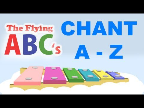 The Flying ABC's Full Alphabet Chant A to Z