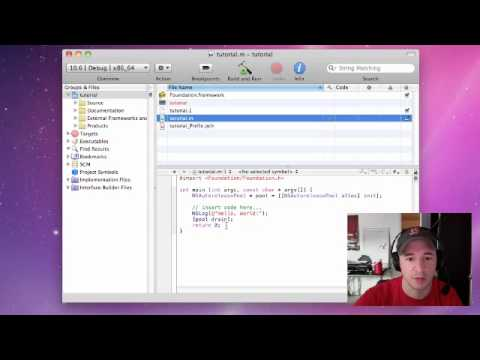 Objective C Programming Tutorial - 1 - Setting up Xcode