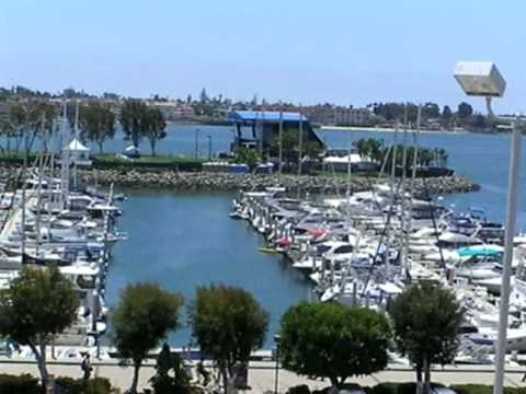 San Diego Bay from Veranda at San Diego Convention Center