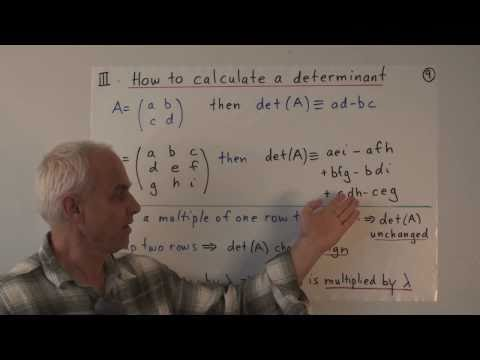 WildLinAlg15: Applications of row reduction (Gaussian elimination) I
