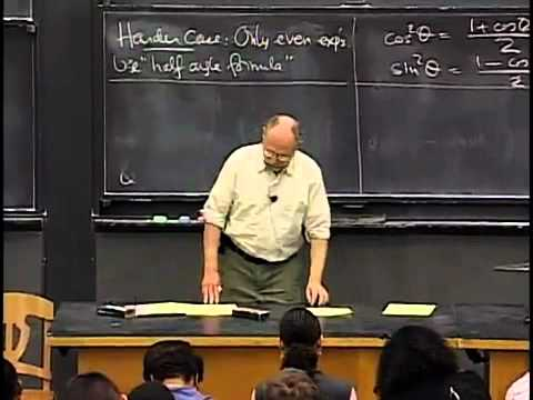 Saylor MA102: Trigonometric Integrals and Substitution
