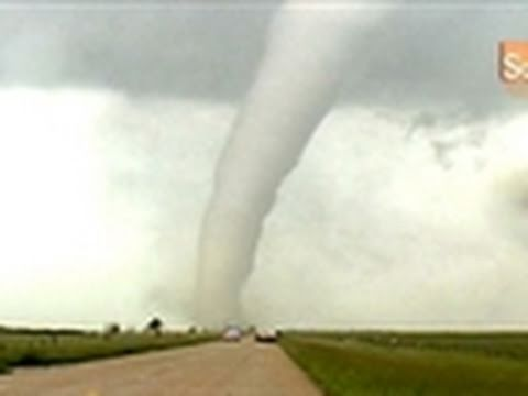 Science of Storm Chasing- When a Tornado Strikes