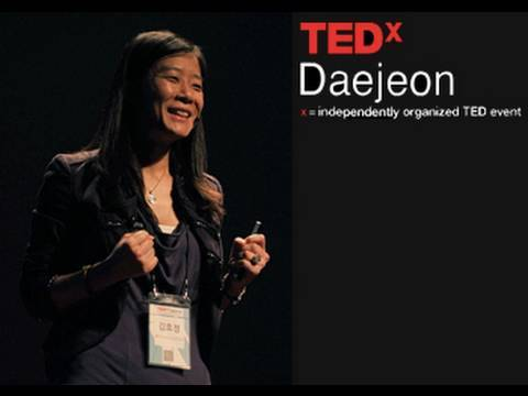 TEDxDaejeon - Kim Hyo-jung - Achieving life happiness by crossing 5 great deserts