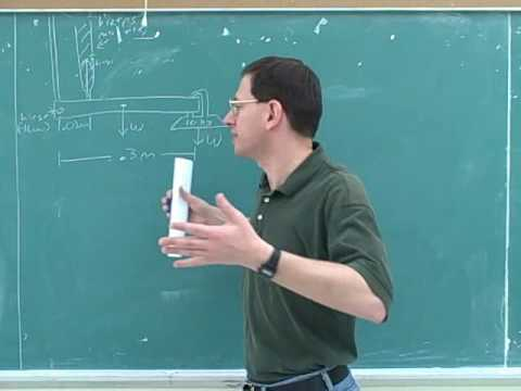 Rotational statics and dynamics problems (6)