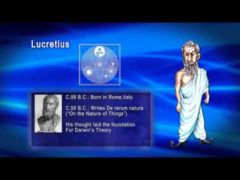 Top 100 Greatest Scientist in History For Kids(Preschool) - LUCRETIUS