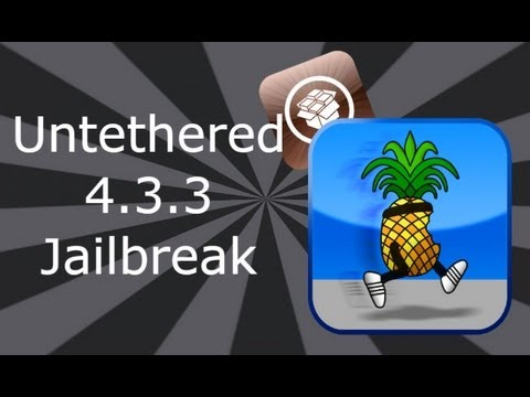 Untethered Jailbreak 4.3.3 Firmware iPhone 4, 3Gs, iPod Touch 3, 4 & iPad