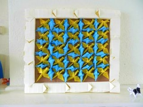 Origami 3D PAINTING - Birds and Fishes