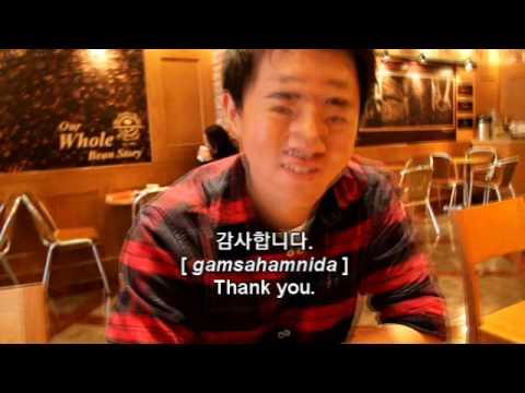 "very short korean lesson - ""drawing' - Hyunwoo Sun"