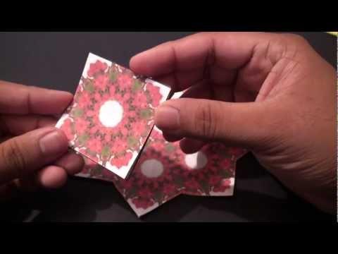 Popular Craft Projects - 001: Tea Bag Folding Coaster (Kite Fold) - TCGames [HD]