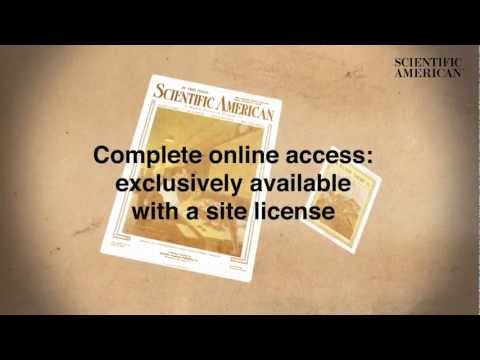 Scientific American archive collections: grant your users site license access