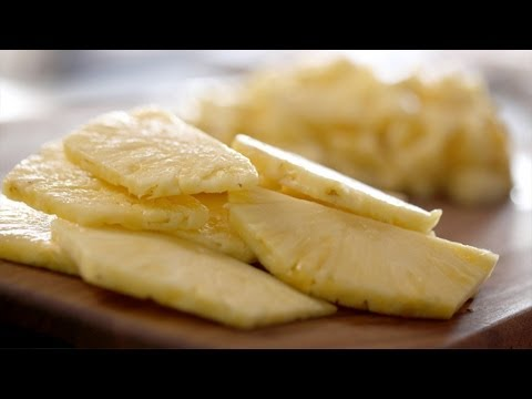 Pineapples: How To Cut Them || Kin Eats