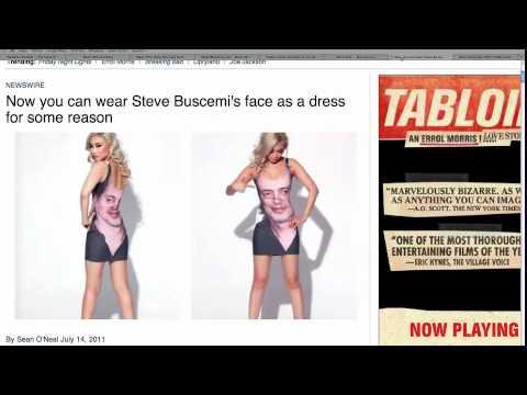 The Steve Buscemi Dress