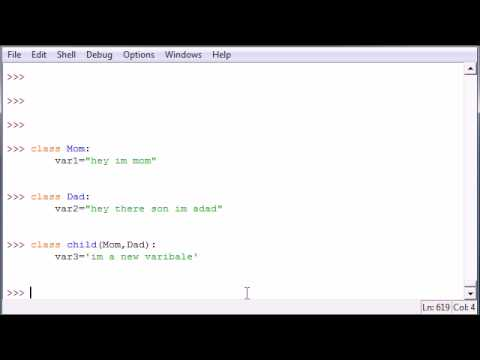 Python Programming Tutorial - 36 - Multiple Parent Classes