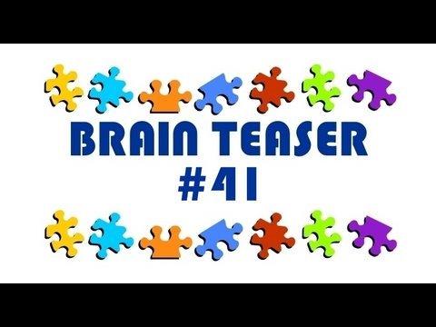 Video Brain Teaser #41