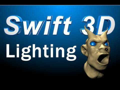 Swift 3D Tutorial : Lighting Your Models, Scenes, and Animations for Different Scenarios