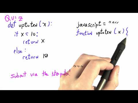 Up To Ten Solution - CS262 Unit 3 - Udacity
