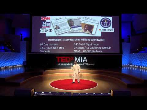 TEDxMIA - Barrington Irving - Touching the Sky Inspiring Youth to Dream and Soar