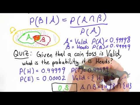 Probability Review Pt 3 Solution - CS387 Unit 1 - Udacity