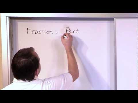 Review of Fraction Concepts - Mastering 5th Grade Math - Vol 1 - Lesson 1