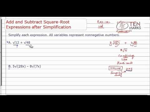 Simplify Before Adding and Subtracting