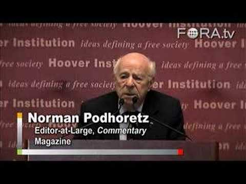 Norman Podhoretz - The Case for Bombing Iran