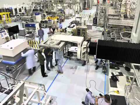 Robonaut 2 prepares for lift-off