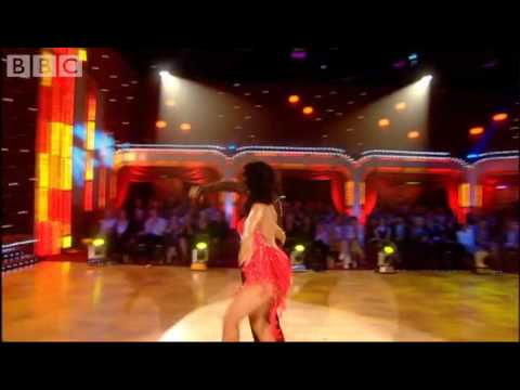Strictly: Karen & Mark return to dance their Salsa - BBC - Strictly Come Dancing