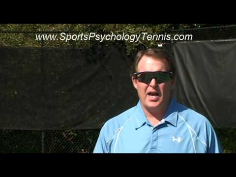 Tennis Confidence Video 3: How Trying Too Hard Hurts Tournament Players
