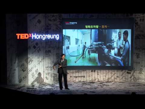 TEDxHongreung - Wanchul Park - The day when I sank into the honey bucket