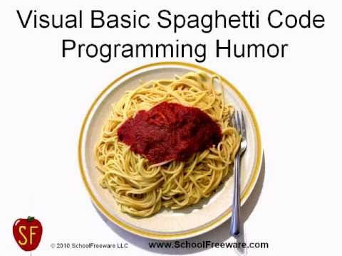 Visual Basic Spaghetti Code - Programming Humor